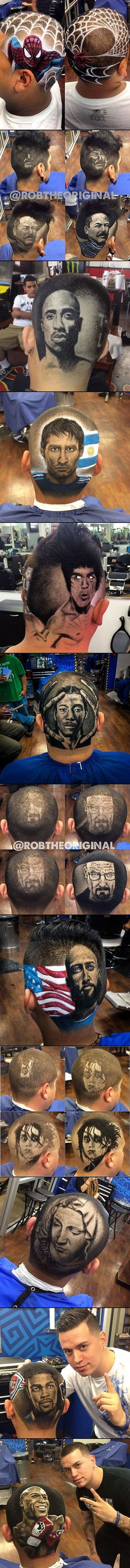 Master barber Rob 'The Original' Ferrel is a hair artist from Los Angeles, California and currently based in San Antonio, Texas where he owns and operates his own barbershop.