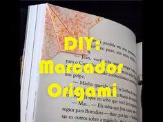 TRACINHAS: DIY - Marcador Origami, por Kamila Zöldyek