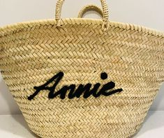 Pink Waters Resort - Personalised Accessories Personalised Childrens Gifts, Personalized Luggage, Beach Basket, Basket Bag, Resort Wear, Jewelry Gifts, Straw Bag, Pink, Bags