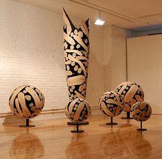 Fabulous wood sculpture!  Lee jea-hyo, Korea