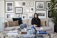Get some stunning interior design ideas for small flats with Flat 15 blogger Gabriella Palumbo beautiful and brilliant decorating tips from her London flat