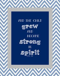 Bible verse for baby boy. Baptism, New baby, Nursery décor.