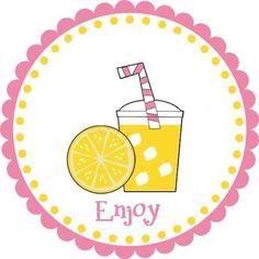 Lemonade Stand Signs Printable | Click Lemonade Cup Tag for FREE printable (the lemon slice printable ...