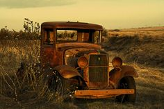 I am fascinated by old, rusty, abandoned cars