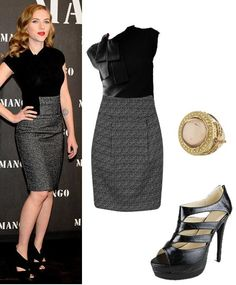 What the Frock? - Affordable Fashion Tips and Trends: Scarlett Johansson's Style for $98.90