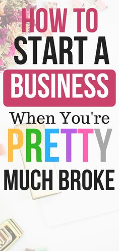 How To Start a Business When Youre Pretty Much Broke - Starting A Business - Ideas of Starting A Business - Wondering how to start a business with little to no startup? Heres the ONE business that only requires a small investment. Craft Business, Start Up Business, Starting A Business, Business Planning, Business Tips, Online Business, Building A Business, Business Products, Business Quotes