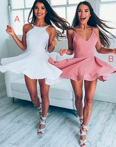 Cute short prom dress, cute homecoming dress, cocktail dress for teens