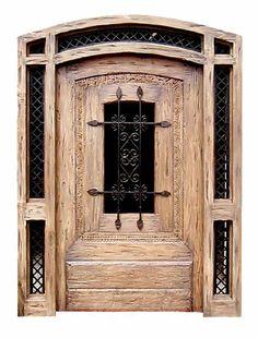 Custom Door -  Wartburg Castle 11th Cen Germany - CD567