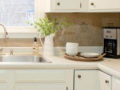 7 Budget Backsplash Projects : Home Improvement : DIY Network