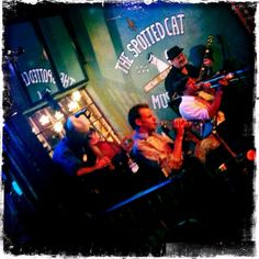 The Spotted Cat on Frenchman Street.  I spent an entire day there once.