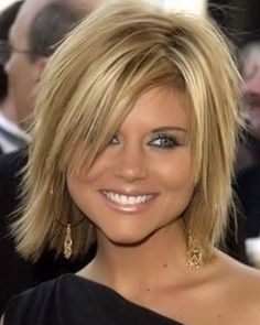 Short Shag Hairstyles for Thick