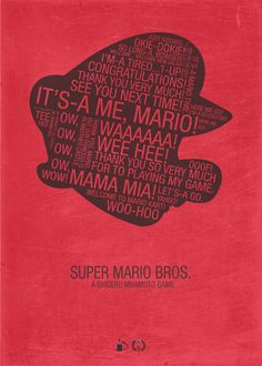 I love talking like the characters I play on video games. Baby Mario is my favorite. Admit it...you read this entire thing in his voice.