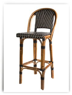 traditional french cafe chair.