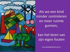 Wat als we kinderen meer vrij laten? Meer info? kijk ook eens op www.pvccm.nl