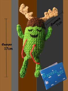 Personaje Dumb ways to die amigurumi Tejido a crochet
