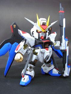 SD Strike Freedom Gundam - Customized Build