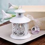 Fabulous White Lantern Favor (FashionCraft 4153) | Buy at Wedding Favors Unlimited (https://www.weddingfavorsunlimited.com/fabulous_white_lantern_favor.html).