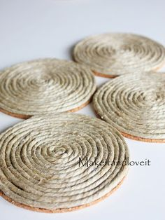 Hemp Cording Coasters