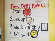 Fire Drill Rules