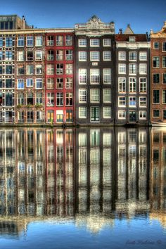 "Amsterdam, Netherlands • ""Amsterdam HDR"" by Joel Rubino on http://500px.com/photo/11614709"