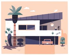 California Dreaming: Illustrator captures cool Southern California style | Creative Boom