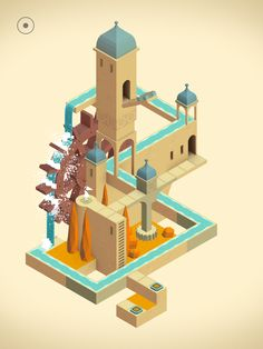 Monument Valley 2 is an illusory adventure of impossible architecture and forgiveness by ustwo games Isometric Art, Isometric Design, Photo Illustration, Graphic Design Illustration, Illusion Games, Monument Valley Game, Contrast Art, 3d Cinema, Adobe Illustrator Tutorials
