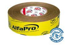 Alfa Pro Imprägniertes Papier-Klebeband zum luftdichten Verkleben der Gebäudehülle