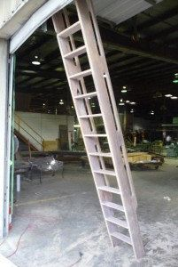 Ship's Ladder for Loft/Library/Attic  by HistoricFlooring on Etsy, $999.00