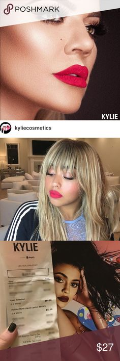 OKURRR Kylie Cosmetics KoKo Kollection Matte Lip KOKO KOLLECTION OKURRR individual matte lipstick only! Brand new and authentic. Full sized. Kylie Cosmetics Makeup Lipstick