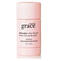 amazing grace antiperspirant/deodorant, the best product like this I have ever used!  #upliftingphilosophy @philosophy skin care