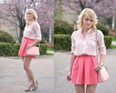 Valentina Ioana - Sheinside Shirt, Andreea Design Skirt, New Look Shoes - Candy land