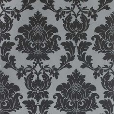 i so want this wallpaper for behind my bed in my bedroom one day. focal wall