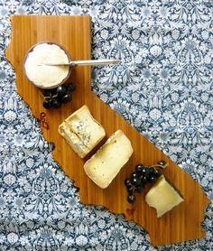 Cute cali cutting board!