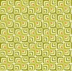 Verspieltes Retro-Muster für den ausgefallenen Einrichtungsstil