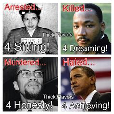 This is powerful in its naked, brutal truth. Rosa, MLK, Malcolm X, Obama. Make racial equality an issue of the past by making everyone equal! Go to http://www.fuzeus.com