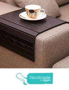 Sofa Tray Table BLACK, Wooden TV tray, Wooden Coffee Table, Lap Desk for small spaces, Wood Gifts, Sofa Arm Tray, Armrest Tray, Couch Tray, Sofa Table, Wood Tray from LipLap https://www.amazon.com/dp/B01K79HXSK/ref=hnd_sw_r_pi_dp_y-lVybXF7S1QT #handmadeatamazon
