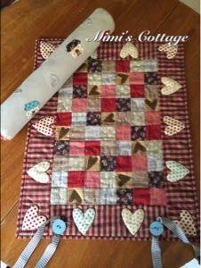 Mimi's Cottage: Rulo portabloques Gloria