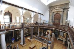 Interior Museum of Anthropology and Archaeology