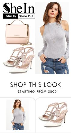 """""""BODYSUIT UP"""" by tamarasimic ❤ liked on Polyvore featuring Valentino and Givenchy"""