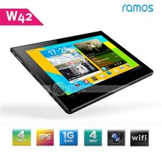 DinoDirect.com supplied the best products you like.We are glad to recommend the new tablet pc for you which Ramos W42 Quad Core Android 4.0 Tablet PC 9.4 Inch IPS Screen 1280*800 Resolution Exynos 4412 1.4GHz 1GB RAM 16GB WIFI Bluetooth OTG Dual Camera Tablet PC. Performance tough, super and great experience tablet pc for you.The 9.4-inch tablet PC runs Google Android 4.0, download any application you want from Android Market and customize your touch screen tablet PC to make it exclusively…
