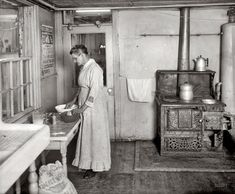 1917 kitchen.