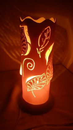 Luminária em PVC de Mesa - 30cm