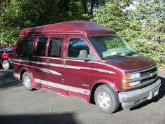 1996 Chevrolet Expr High Top Conversion Van