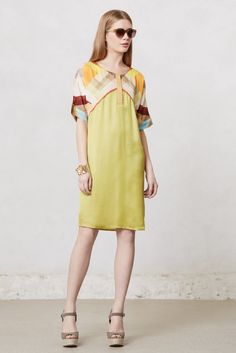 31d82a2502ad Softened Angles Tunic Dress from Anthropologie  poachit Look Primavera