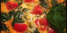 Rezept für ein Spinat-Omelette