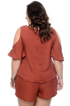 Blusa Plus Size Zenna Plus Size Shirt Dress, Plus Size Shirts, Plus Size Fashion For Women, Plus Size Women, Blouses For Women, Pants For Women, Girl With Curves, Moda Plus Size, Women's Summer Fashion