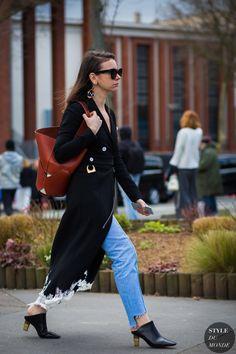 Natasha Goldenberg Street Style Street Fashion Streetsnaps by STYLEDUMONDE…