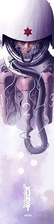 EK08 - Hexagram White - Derek Stenning - http://borninconcrete.com