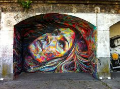 Berlin-based artist, David Walker in Aubervilliers
