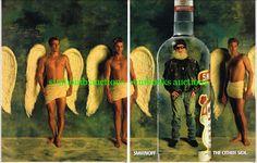 Smirnoff Vodka Other Side Hells Angel Original Magazine DPS Advert . Hells Angels, Smirnoff, Vodka, Magazine, The Originals, Fun, Magazines, Lol, Funny